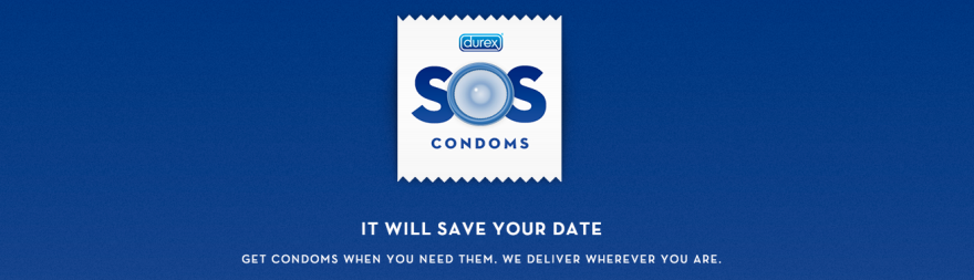 SOS Condoms Codigo Visual