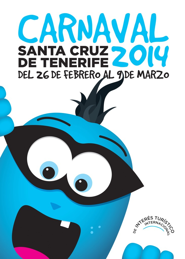 Cartel Carnaval TF 2014